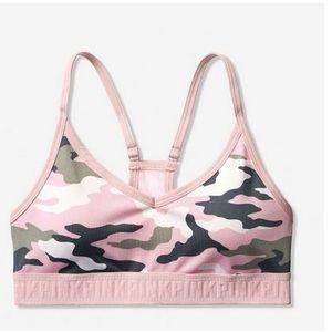 Pink Ultimate Camo Sports Bra